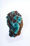 Κρύσταλλα Aurichalcite Στοκ φωτογραφία με δικαίωμα ελεύθερης χρήσης