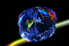 Κρύσταλλο από το πλαστικό Στοκ Εικόνες