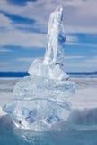 Κρύσταλλο επιπλέοντος πάγου πάγου πέρα από χειμερινό Baikal τη λίμνη Στοκ φωτογραφία με δικαίωμα ελεύθερης χρήσης