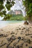 Κρύσταλλο - σαφής ευχάριστης και σκιερής ατμόσφαιρα θαλάσσιου νερού, στο νησί Phak Bia, περιοχή AO Luek, Krabi, Ταϊλάνδη Στοκ φωτογραφίες με δικαίωμα ελεύθερης χρήσης