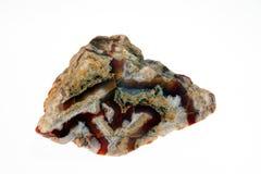 Κρύσταλλο Carnelian Στοκ Φωτογραφία