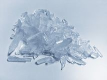 Κρύσταλλο meth Στοκ εικόνα με δικαίωμα ελεύθερης χρήσης