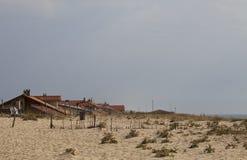Κρύψιμο στην άμμο Στοκ Εικόνες