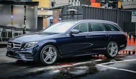 Κτήμα 2017 ε-κατηγορίας της Mercedes-Benz Στοκ φωτογραφία με δικαίωμα ελεύθερης χρήσης