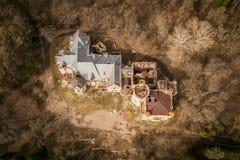Κτήμα και Castle Khrapovitsky σε Muromtsevo, Βλαντιμίρ Στοκ εικόνα με δικαίωμα ελεύθερης χρήσης