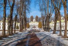 Κτήμα κοντά στη Μόσχα Serednikovo Στοκ Φωτογραφία
