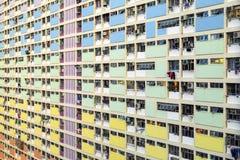 Κτήμα ουράνιων τόξων σε Choi που κρεμιέται, Χονγκ Κονγκ στοκ φωτογραφίες