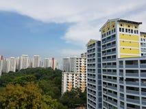 Κτήμα στέγασης κοινής ωφελείας σε Bukit Panjang, Σιγκαπούρη Στοκ εικόνα με δικαίωμα ελεύθερης χρήσης