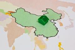 κτήμα της Κίνας πραγματικό Στοκ Εικόνες