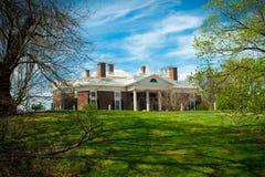 Κτήμα Monticello από κάτω από στοκ εικόνες