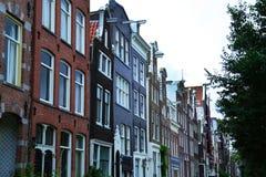 Κτήρια Άμστερνταμ, Κάτω Χώρες Στοκ Εικόνα