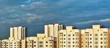 κτήρια διαμερισμάτων Στοκ εικόνα με δικαίωμα ελεύθερης χρήσης