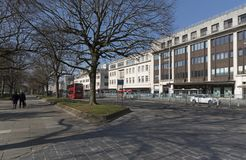 Κτήρια κέντρων της πόλης του Πλύμουθ Devon UK Στοκ Φωτογραφία