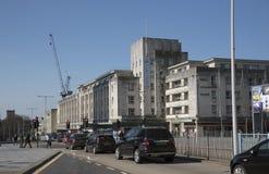 Κτήρια κέντρων της πόλης του Πλύμουθ Devon UK Στοκ φωτογραφίες με δικαίωμα ελεύθερης χρήσης