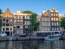 Κτήρια και κανάλια, Άμστερνταμ στοκ εικόνα