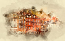 Κτήρια και οικοδομήσεις Στοκ Φωτογραφία