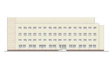Κτήρια και δομές του πρόωρου και μέσου 20ου αιώνα στοκ φωτογραφία με δικαίωμα ελεύθερης χρήσης