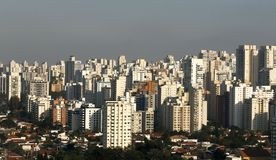 Κτήρια και σπίτια, Σάο Πάολο στοκ φωτογραφίες