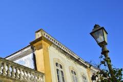 Κτήρια και χαρακτηριστικά σπίτια στο Αλγκάρβε, Πορτογαλία Στοκ εικόνες με δικαίωμα ελεύθερης χρήσης
