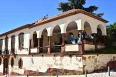Κτήρια και χαρακτηριστικά σπίτια στο Αλγκάρβε, Πορτογαλία Στοκ Φωτογραφίες