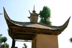 κτήρια κινέζικα Στοκ εικόνα με δικαίωμα ελεύθερης χρήσης