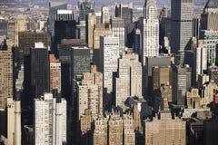 κτήρια Μανχάτταν Νέα Υόρκη Στοκ εικόνα με δικαίωμα ελεύθερης χρήσης