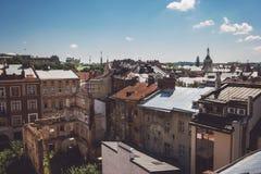 Κτήρια μπλε ουρανού και πόλεων Στοκ φωτογραφίες με δικαίωμα ελεύθερης χρήσης