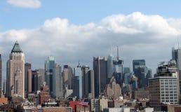 κτήρια Νέα Υόρκη Στοκ Εικόνες