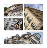 κτήρια Παρίσι Στοκ Φωτογραφία