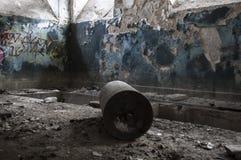 κτήρια που καταστρέφοντα& Στοκ Φωτογραφία