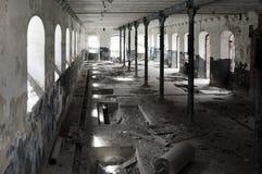 κτήρια που καταστρέφοντα& Στοκ εικόνα με δικαίωμα ελεύθερης χρήσης