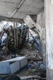 κτήρια που καταστρέφοντα& Στοκ εικόνες με δικαίωμα ελεύθερης χρήσης
