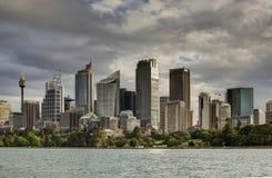 Κτήρια πόλεων του Σίδνεϊ, Σίδνεϊ Αυστραλία Στοκ Φωτογραφία