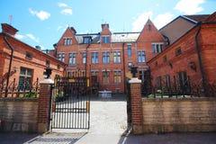 Κτήρια σε Arboga, Σουηδία Στοκ εικόνες με δικαίωμα ελεύθερης χρήσης