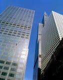 κτήρια Σικάγο στο κέντρο τ& Στοκ φωτογραφίες με δικαίωμα ελεύθερης χρήσης