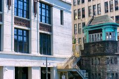 κτήρια Σικάγο Στοκ εικόνες με δικαίωμα ελεύθερης χρήσης