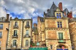 Κτήρια στην παλαιά πόλη της Angers, Γαλλία Στοκ εικόνες με δικαίωμα ελεύθερης χρήσης