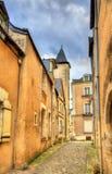 Κτήρια στην παλαιά πόλη της Angers, Γαλλία Στοκ Εικόνες