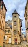 Κτήρια στην παλαιά πόλη της Angers, Γαλλία Στοκ εικόνα με δικαίωμα ελεύθερης χρήσης
