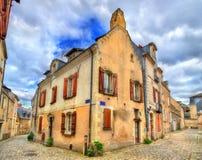 Κτήρια στην παλαιά πόλη της Angers, Γαλλία Στοκ φωτογραφίες με δικαίωμα ελεύθερης χρήσης