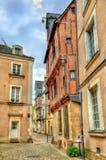 Κτήρια στην παλαιά πόλη της Angers, Γαλλία Στοκ Φωτογραφίες