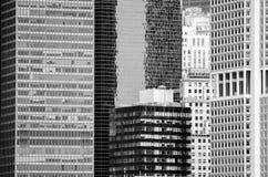 Κτήρια στην πόλη της Νέας Υόρκης Στοκ Εικόνα