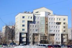 Κτήρια στην πόλη Barnaul Στοκ Εικόνα