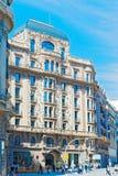 Κτήρια στη Βαρκελώνη, Ισπανία Στοκ Φωτογραφίες