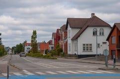 Κτήρια στη δανική πόλη Soroe Στοκ εικόνα με δικαίωμα ελεύθερης χρήσης