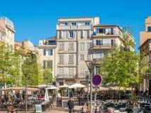 Κτήρια στη Μασσαλία Στοκ φωτογραφία με δικαίωμα ελεύθερης χρήσης