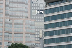 Κτήρια στη Μπανγκόκ, Ταϊλάνδη. Στοκ Εικόνες