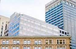 Κτήρια στον ορίζοντα της Βοστώνης Στοκ εικόνα με δικαίωμα ελεύθερης χρήσης