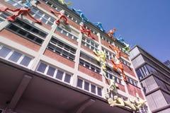 Κτήρια στο λιμάνι Ντίσελντορφ MEDIA Στοκ Φωτογραφίες