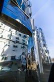 Κτήρια στο λιμάνι Ντίσελντορφ MEDIA Στοκ εικόνα με δικαίωμα ελεύθερης χρήσης